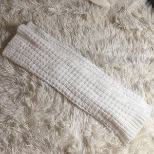 Ivory Knitted Leg Warmers